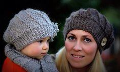A cozy, quick-to-knit hat and cowl set is easily adapted to different sizes: toddler, child, teen and adult. It is also a great way to use up single skein of chunky weight yarn. A fun and simple hat is knitted sideways, using short rows, create a lovely twist effect around the head. You may adorn it with a flower or just a big button. The button-up neck warmer is a simple wrap-style neck scarf with a button closure and as easy as knit and purl. Wear it as a cowl, neck warmer or shoulder…