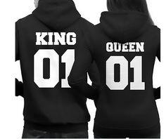2106 패션 왕 여왕 까마귀 커플 풀오버 스웨터 남녀 후드 인과 긴 소매 크루 넥 운동복 남성 여성