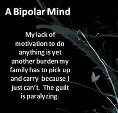 guilt. #bipolar #bipolar2 #depression #anxiety #mentalillness #mooddisorder