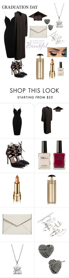 """Graduation Day"" by vollga-domi ❤ liked on Polyvore featuring Topshop, Dolce&Gabbana, Prada, Rebecca Minkoff, Betsey Johnson and graduationdaydress"