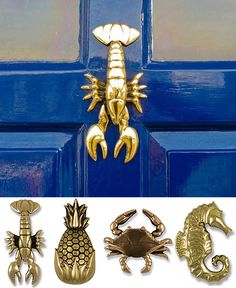 Relish: Knock knock. Cool door knockers