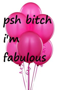 :3pink balloons