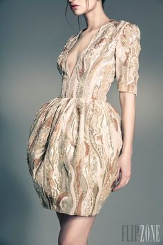 Jean Louis Sabaji - Couture - Spring-summer 2013 - http://www.flip-zone.net/fashion/couture-1/independant-designers/jean-louis-sabaji-4080