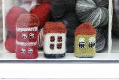 knitted houses - Google Search