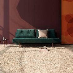 Recast plus dark styletto bäddsoffa från Innovation Living - Bäddsofflagret Sofas, Bed Sizes, Innovation Design, Sofa Bed, Mid-century Modern, Chair, Furniture, Home Decor, Products