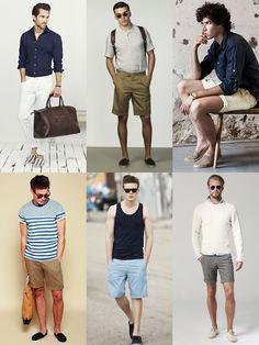Men's Espadrilles Summer Holiday Outfit Inspiration Lookbook