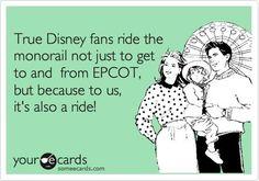 Disney. Monorail. Enough said.