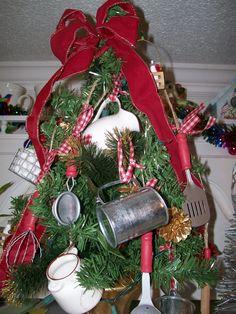 Country Christmas Trees Tree Themes Beautiful