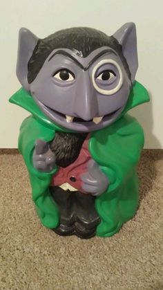 Sesame street the count cookie jar