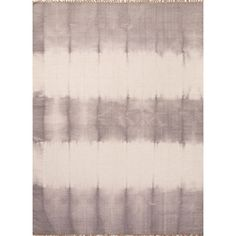 "Tie dye technique adds pop of color to these flat-weave rugs.  Design: Asgar Color: Drizzle & Pumice Stone Construction: Flat Weave Backing:	No Pile Height: 1/4"" Style: Flat-Weave Content:	100% Wool Origin: India"