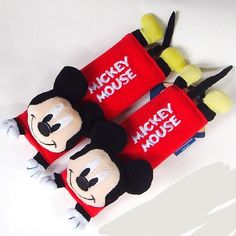 Disney Mickey Mouse Design Multi Use Auto Car seat belt cover Plush Seat Shoulder Pad Cushion 2 pcs One Pair newnews http://www.amazon.com/dp/B00AC5WX8U/ref=cm_sw_r_pi_dp_4.XOvb1KF33MY