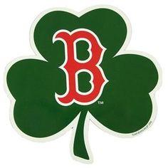 BOSTON RED SOX SHAMROCK LOGO OFFICIAL CAR MAGNET