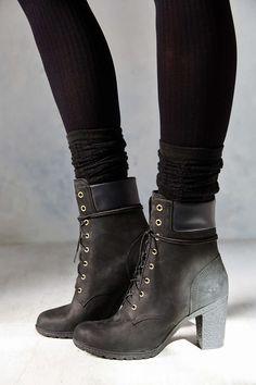 Timberland black heels                                                                                                                                                                                 More