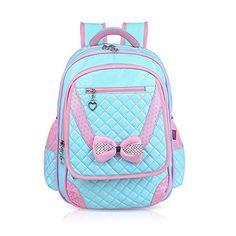 Vere Gloria Children School Backpack Bags for Primary Girls Students PU Leather Bow (2-blue) Vere Gloria http://www.amazon.com/dp/B010NCV0LC/ref=cm_sw_r_pi_dp_VtN9vb0Q0V4Q2