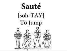 Sauté Ballet Steps, Ballet Moves, Ballet Dance, Ballet Basics, Ballet Class, Dance Terms, Dance Coloring Pages, World Ballet Day, Ballerina Workout