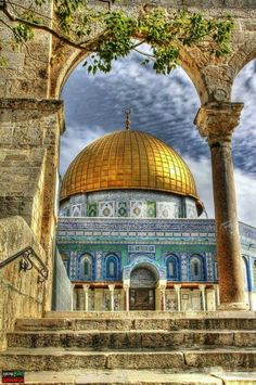 The Dome of Rock Mosque, Palestine