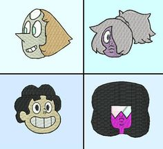 #StevenUniversePatches    #garnet #pearl #Amethyst #steven #patches #patch #cartoon #style #colorful #pink