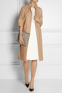 Perfect neutral, love the elbow-length sleeves