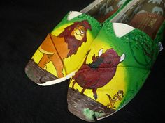 Lion King Painted toms!! WANT!