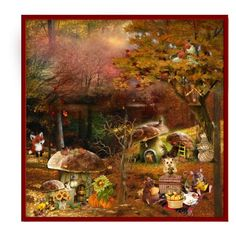 Fall Picnic by terry-tlc on Polyvore featuring art, Fall, artset, polyvoreeditorial and artexpression