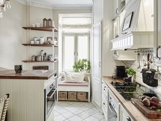 Ławka w kuchni