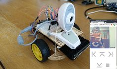 Raspberry Pi - Web Controlled Streaming Video Robot