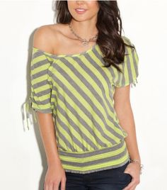 G by GUESS Sheree Short Sleeve Knit Top $29.50