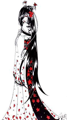 The Dragon Geisha by Isadora-Legata.deviantart.com on @deviantART