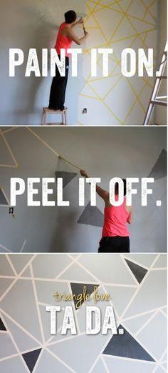 Paint it on, peel it off