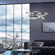 otto.de Nova, Pendant Lamp, Wind Turbine, Modern, Chrome, Dining Room, Save Energy, Living Area, Trendy Tree