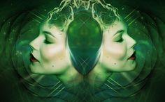 Free Image on Pixabay - Gothic, Goth, Fantasy, Dark, Twins Free Pictures, Free Images, Fantasy Portraits, Vash, Twins, Gothic, Photoshop, Instagram, Artwork