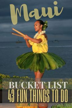 List: 43 Best Things To Do on the Coolest Hawaiian Island Maui Bucket List: 24 Best Things To Do on the Coolest Hawaiian Island Trip To Maui, Hawaii Vacation, Vacation Trips, Vacation Ideas, Dream Vacations, Hawaii Travel Guide, Maui Travel, Nightlife Travel, Croatia Travel