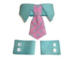 Dog Shirt Collar & Dog Cuff Pattern includes all sizes XXSmall through XXLarge. Classic and distinguished Dog Shirt Collar and Dog Cuffs Pattern for your little dog! Constructed of cotton and cotton blend fabrics, the collar and cuffs are fully lined using Velcro closures at the neck