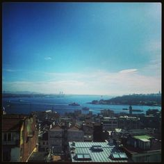 Istanbul view from galata