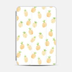 Watercolor Pineapple iPad Case by Wonder Forest - Photo Cover