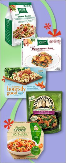 PIN THIS - Hungry Girl's top ALL-NATURAL frozen meal picks!