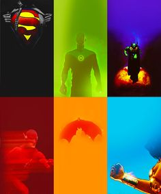 Justice League in Colors