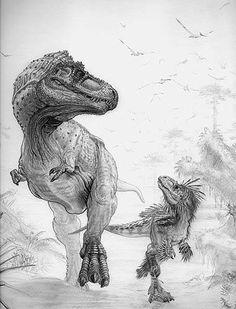 View image – Prehistorics Illustrated Dinosaurs