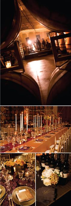 DINNER / DANCING    Sonoma Winery Wedding At Cline Cellars: Talk About Glowing!   Style Me Pretty