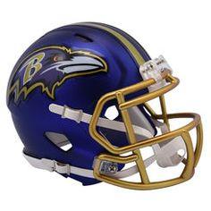 Riddell Baltimore Ravens Blaze Revolution Speed Mini Football Helmet