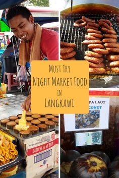 Langkawi Night Markets are 7 nights a week. Langkawi night market food options are diverse, depending on which of the 7 different communities you visit. Malaysia Itinerary, Malaysia Travel Guide, Asian Street Food, Sibu, Asian Market, Malaysian Food, India Food, Best Dishes, Borneo