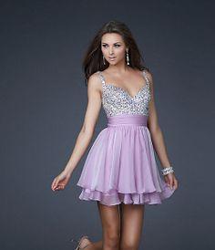 A-line Straps Short Prom Dress V-neck Zipper Mini Sequin Cocktail/Evening Dresses on Etsy, $116.00