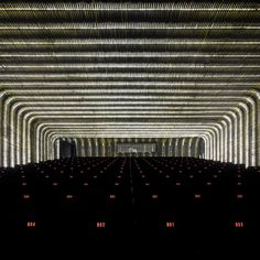 One more shot of probably the best #lighting #design of the year - Cineteca Matadero by Churtichaga Quadra-Salcedo