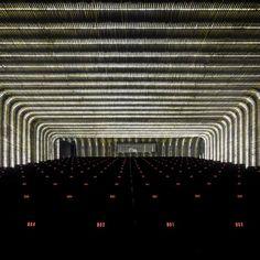 One more shot of probably the best #lighting #design of the year - Cineteca Matadero by Churtichaga Quadra-Salcedo