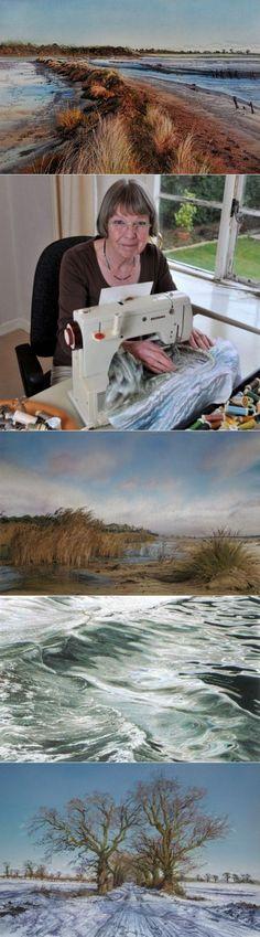 Художник Jill Draper Вышитые картины