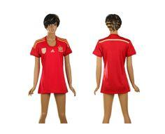 Spagna Maglie Calcio Mondiali 2014 Donna Casa