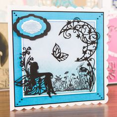 New Tonic Studios Rococo Fairy dies now in stock at Crafts U Love… Kirigami, Card Making Inspiration, Making Ideas, Tonic Cards, Tattered Lace Cards, Studio Cards, Memory Crafts, Die Cut Cards, Create And Craft