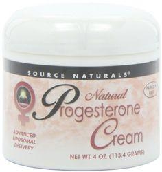 Source Naturals Natural Progesterone Cream, 4 Ounce (113.4 g) Source Naturals http://www.amazon.com/dp/B000GFJJHY/ref=cm_sw_r_pi_dp_4qnJtb13QKBJZ0J5