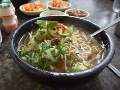 Una comida coreana (no sé el nombre lol)