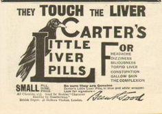 Label from Carter's Little Liver Pills